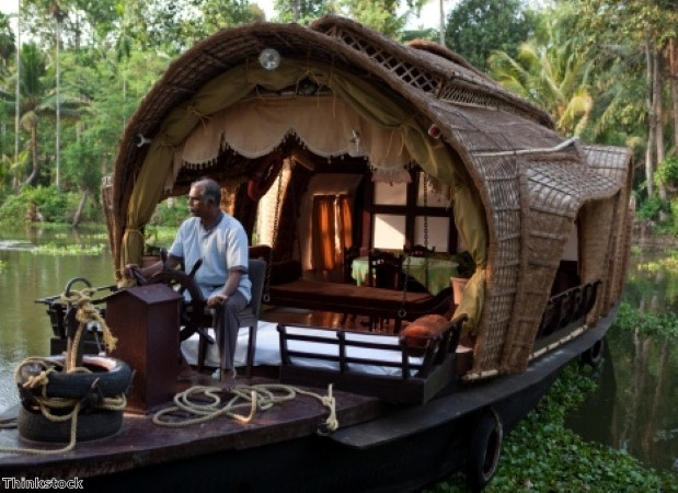 Explore Kerala on a houseboat tour