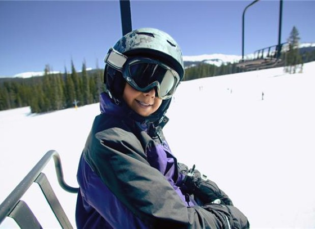 Good ski gear is vital for kids