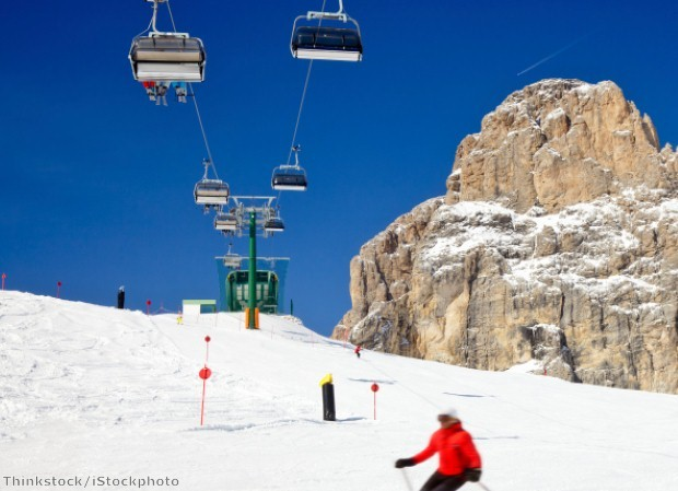 Italy is a haven for skiers