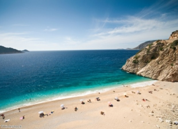 Kaputas Beach is close to Kalkan