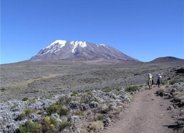 Kilimanjaro is a challenging hike