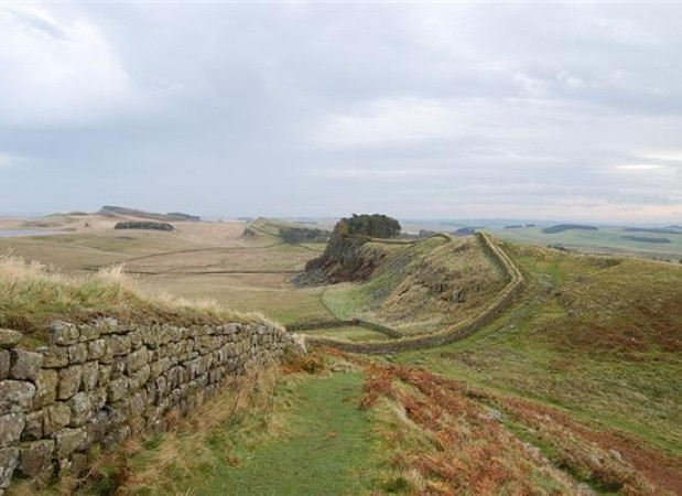 Learn about Hadrian's Wall in Northumberland