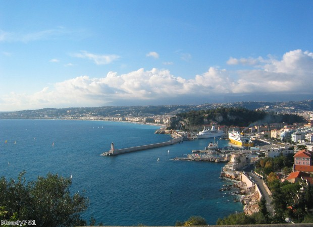 Nice is a great place to start your driving holiday in the south of France
