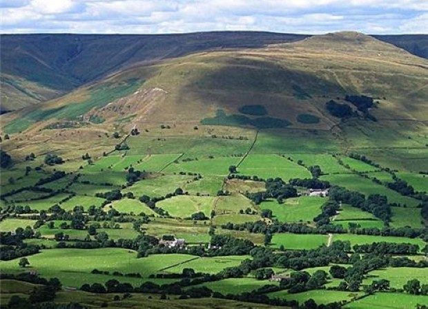 Peak District's miles of public footpaths are perfect for hiking amongst stunning scenery