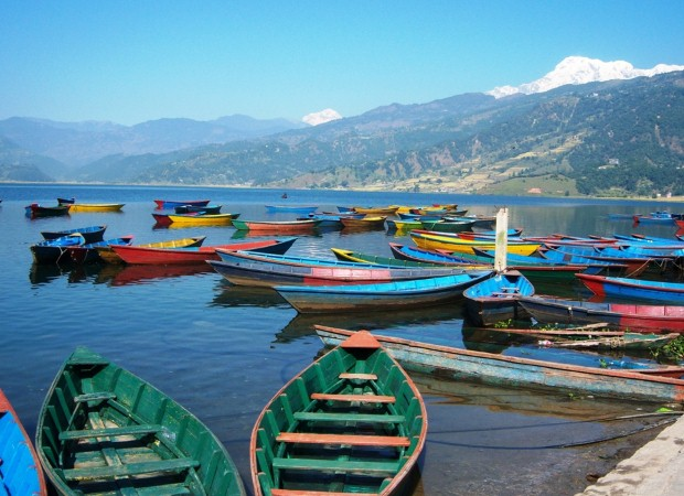 Pokhara is a lovely starting point