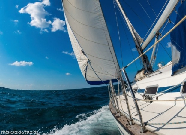 Sailing is the perfect way to see the Med