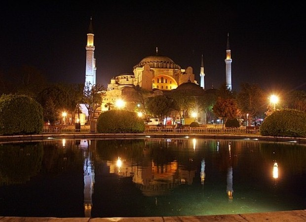See the Hagia Sophia on Istanbul school trips
