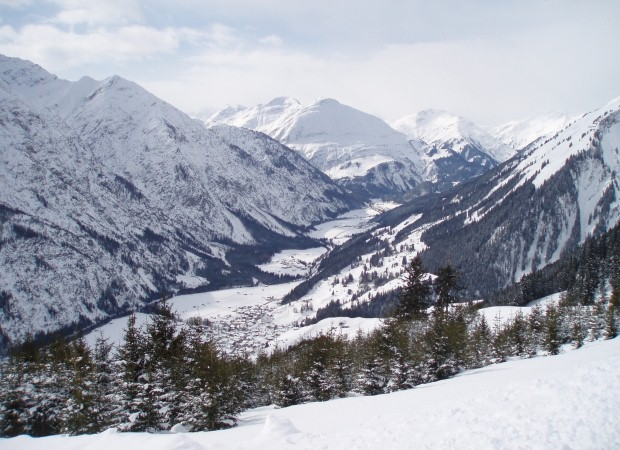 St Anton is ideal for advanced skiers