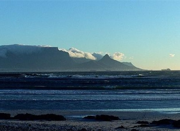 Table Mountain is perfect for active holidays