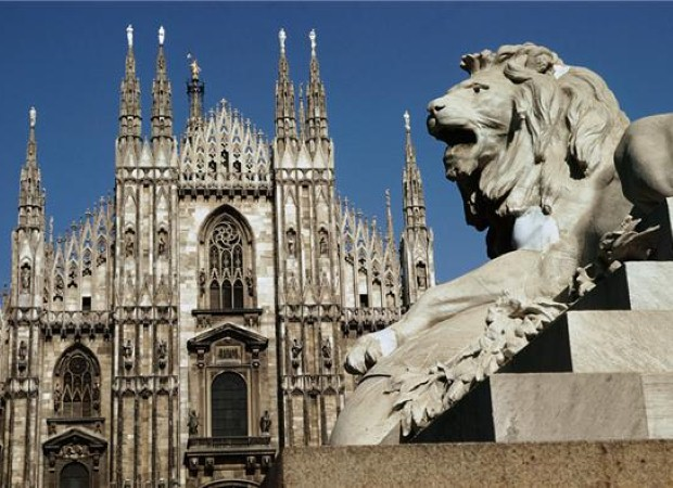 The cathedral in Milan is a must-visit landmark