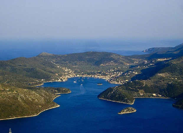 The Ionian islands are great for sailing