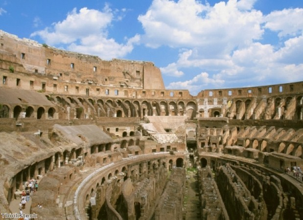 The Roman Colosseum is an awe-inspiring sight