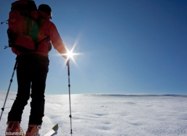 Try cross country skiing on your winter snow holiday
