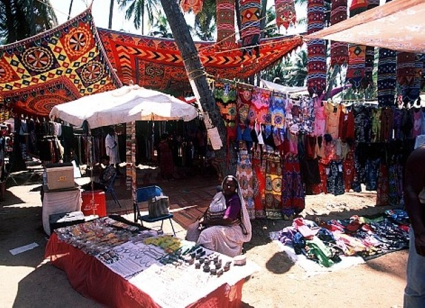 Uncover some bargains in Goa's Anjuna Flea Market