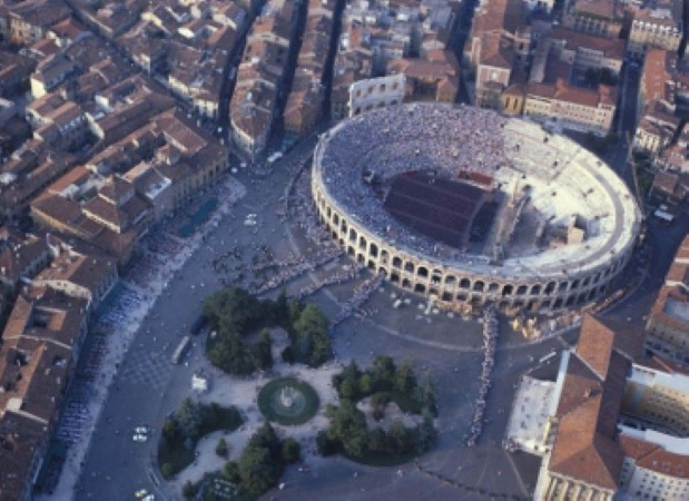 Verona Arena is a magnificent sight