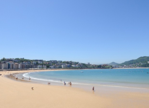 Visit San Sebastian during a school trip to Spain