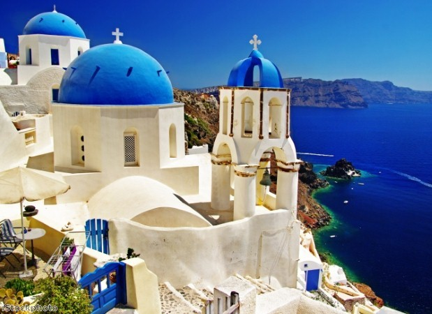 Visit Santorini on a Med cruise to Greece