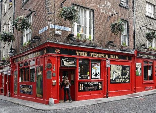 Visit the Temple Bar pub and the area of the same name in Dublin