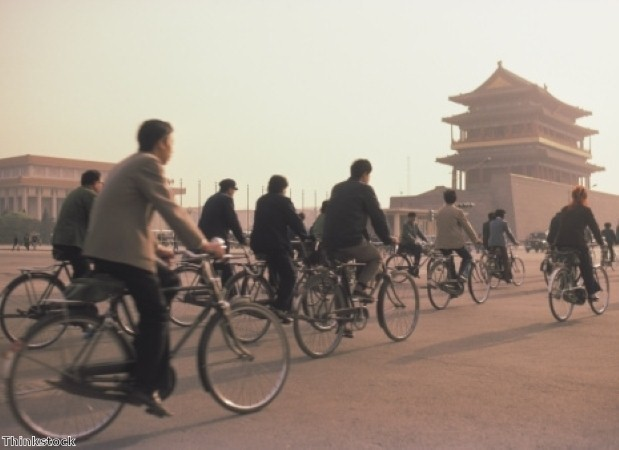 Visit Tiananmen Square on a trip to China