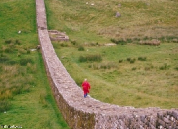 Walk Hadrian's Wall on a Northumberland break