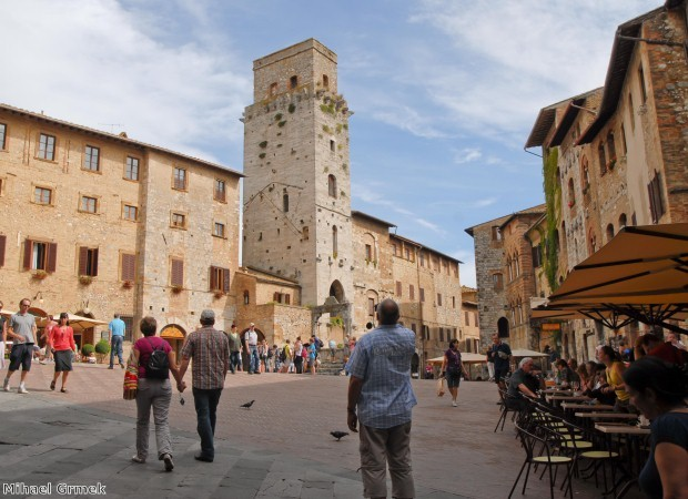 Why not visit historic San Gimignano?
