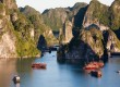 Ha Long Bay is breathtaking
