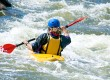 Kayaking is a fun way to explore the Welsh coastline