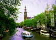 Visit Amsterdam on a Holland boating holiday