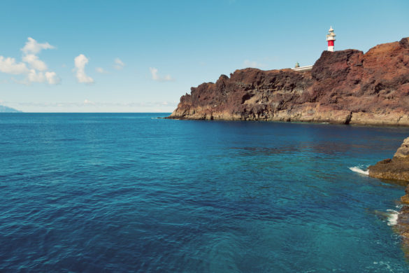 Punta Teno Lighthouse, Tenerife, Canary Islands, Spain